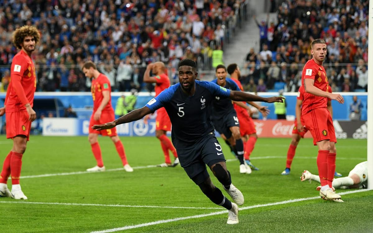 Umtiti i Dembélé, classificats per a la final del Mundial