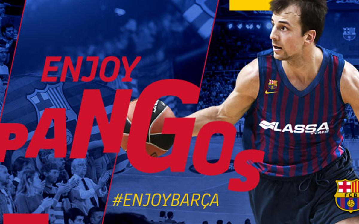 Kevin Pangos, direction and scoring for Barça Lassa