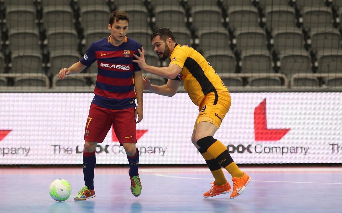 El Magnus y el Elite Futsal, rivales del Barça Lassa en la Intercontinental