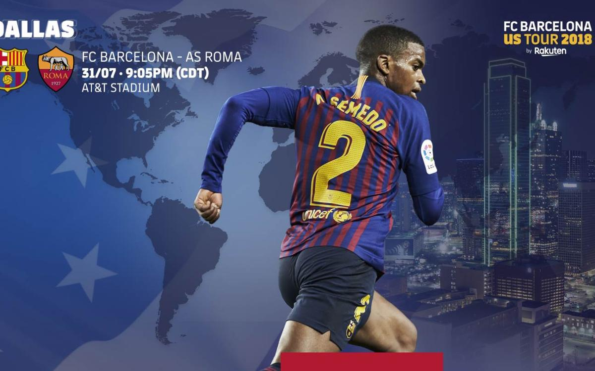 When and where to watch FC Barcelona vs Roma