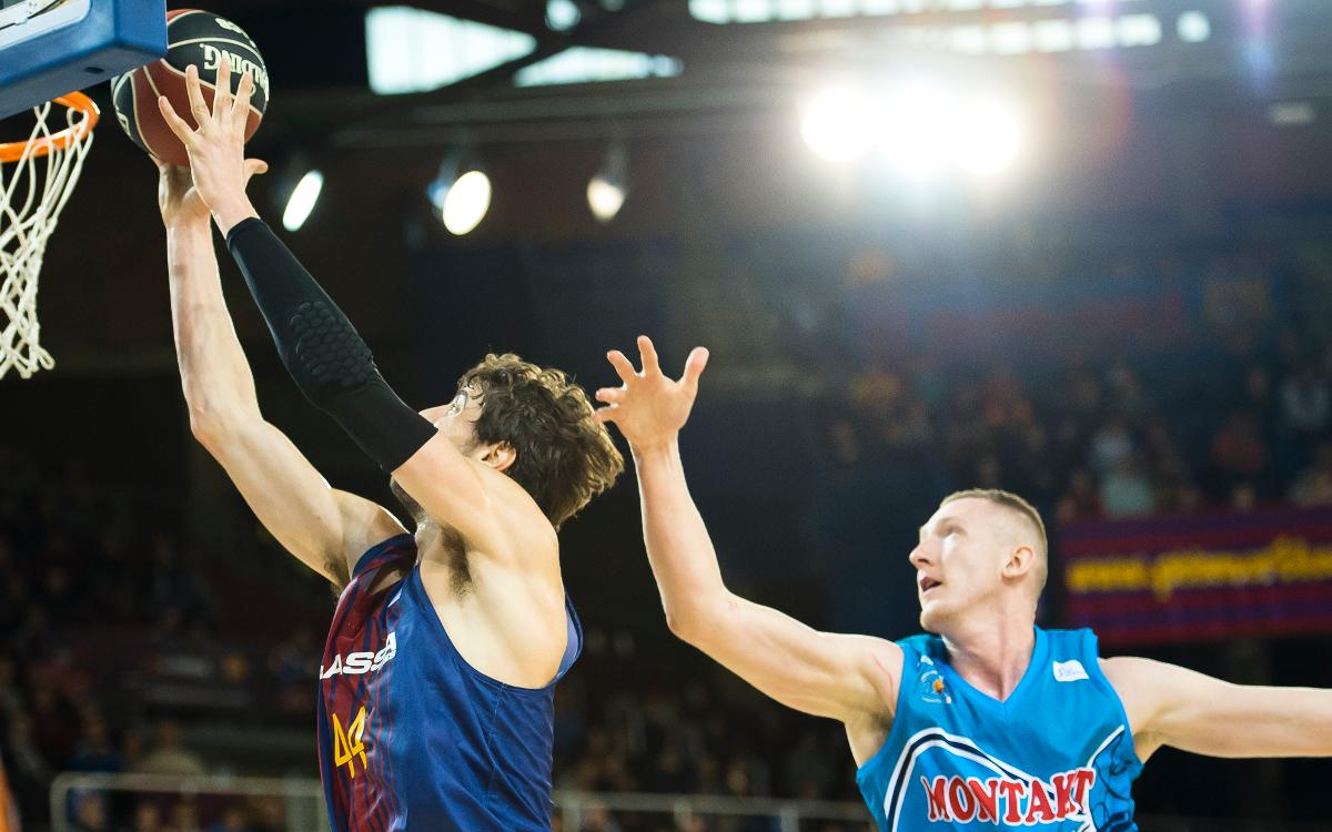 Rolands Smits ready to seize the moment at Barça Lassa