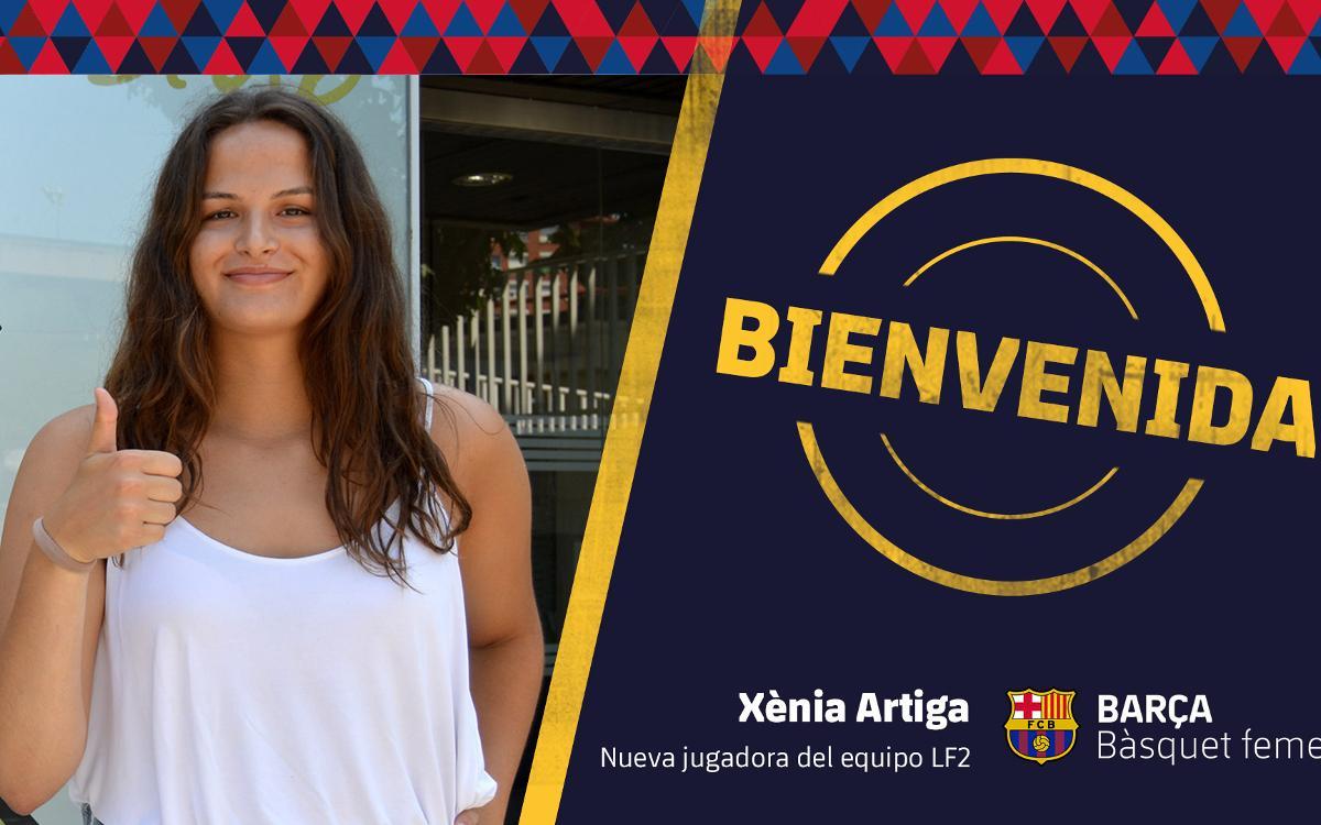 Xènia Artiga, primera incorporación del Barça CBS