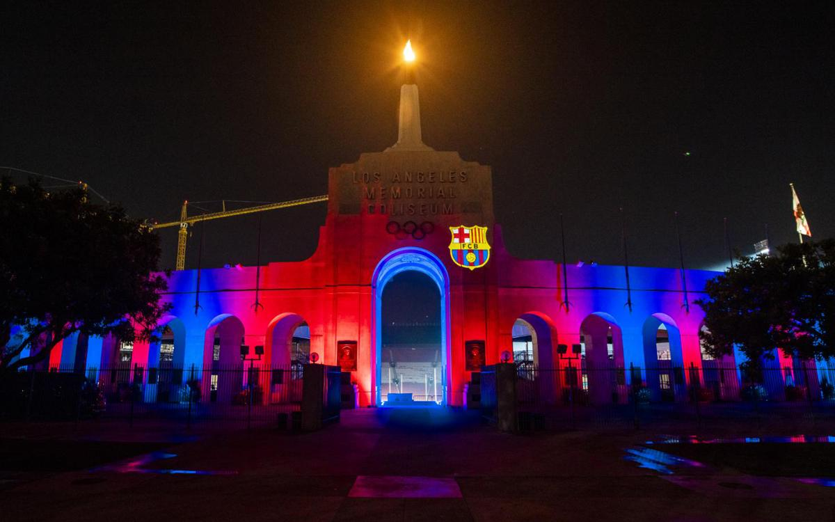 Los Angeles welcomes Barça