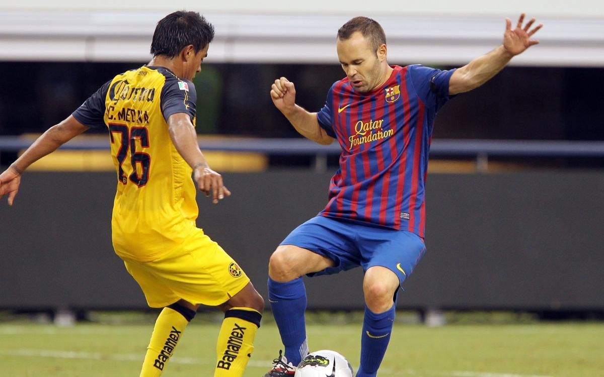 Vidéo - Les buts du FC Barcelone à Dallas