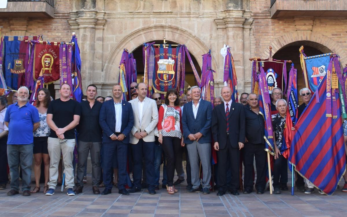 La Penya Barcelonista de Gandesa celebra su XXV aniversario