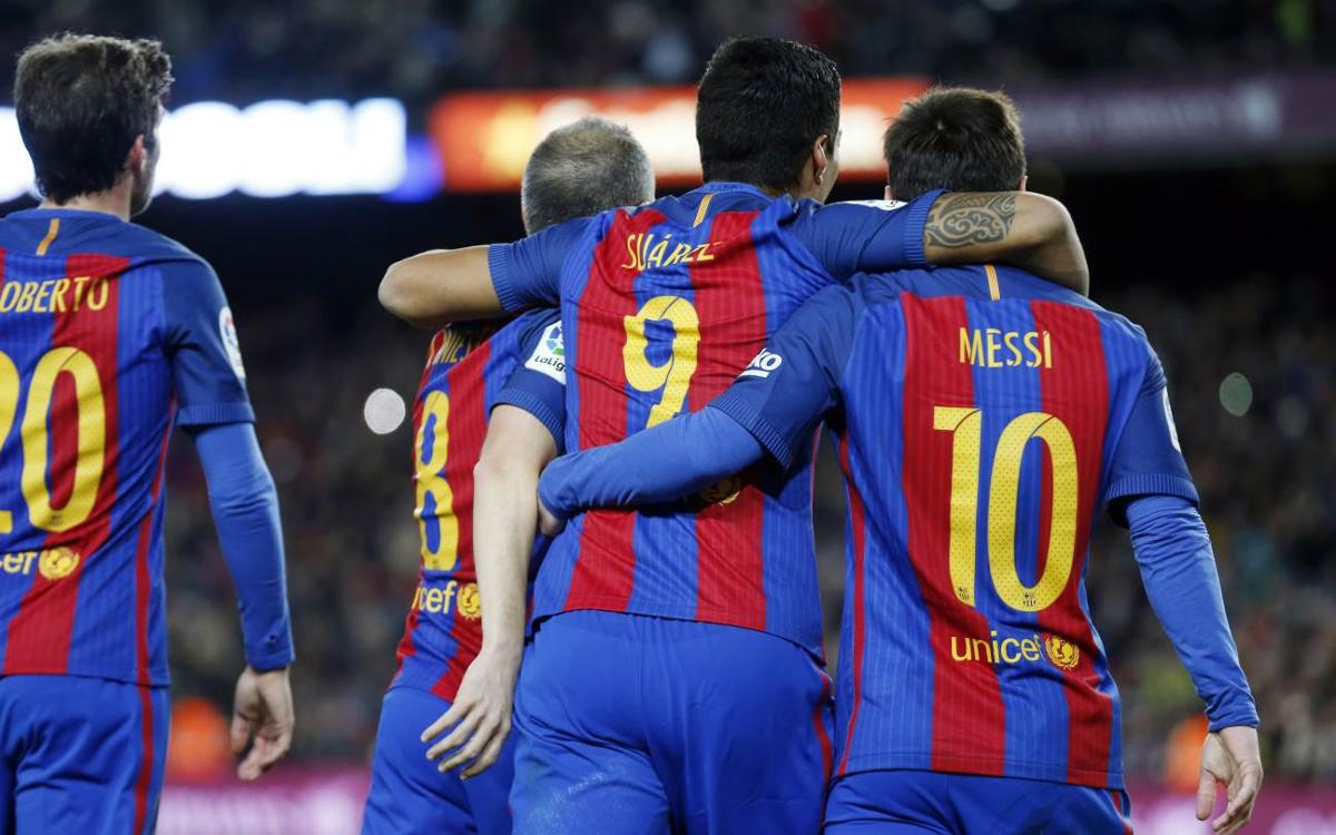 [MATCH REPORT] FC Barcelona 3-1 Athletic Club (4-3 on aggregate): The trident strikes again