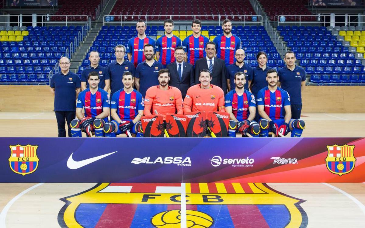 """Josep Maria Bartomeu: """"L'esforç que fa tot l'equip d'hoquei és màxim"""""""