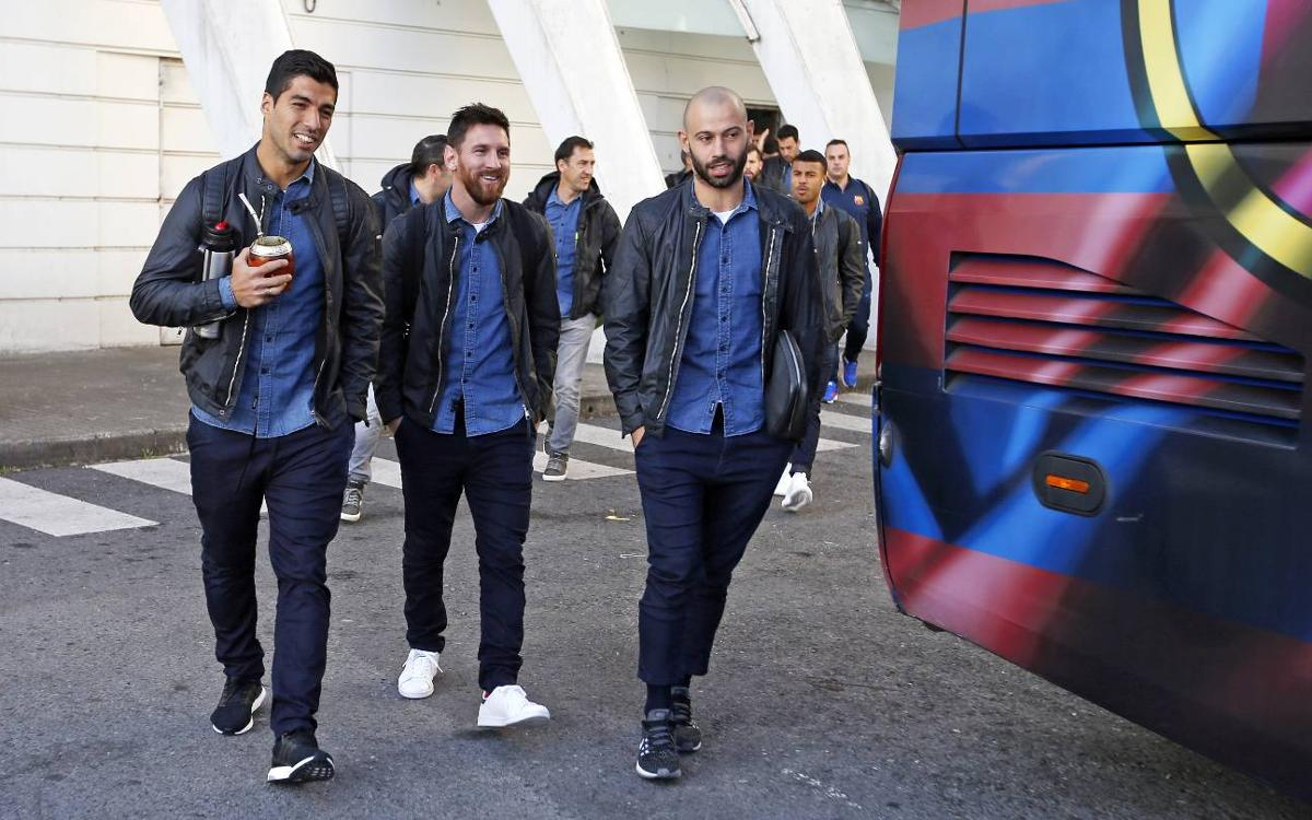 Així ha estat el viatge a Bilbao