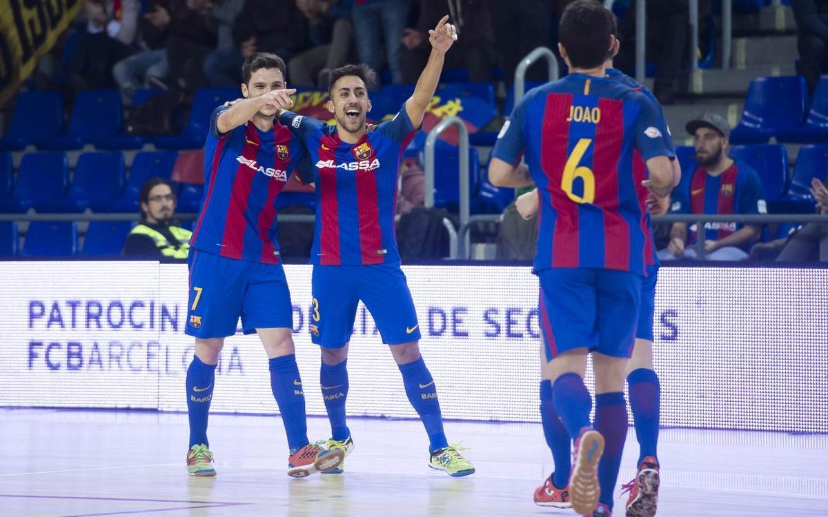 FC Barcelona Lassa v Jaén Paraíso Interior: Winter champions (5-0)