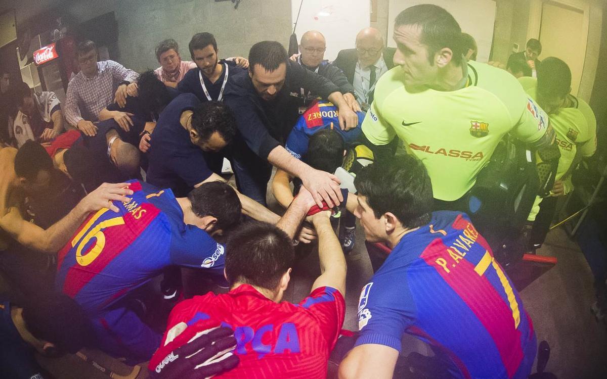 La visión privilegiada del Barça Lassa - Porto