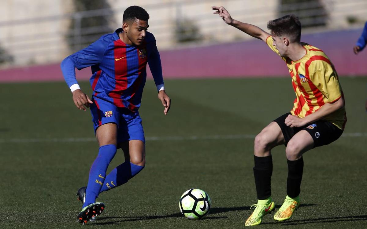 Juvenil A - UE Sant Andreu: Un punto más para seguir líderes (0-0)