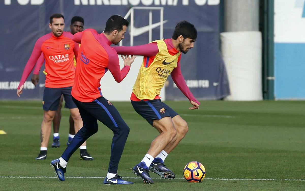 The first team returns to training on Friday