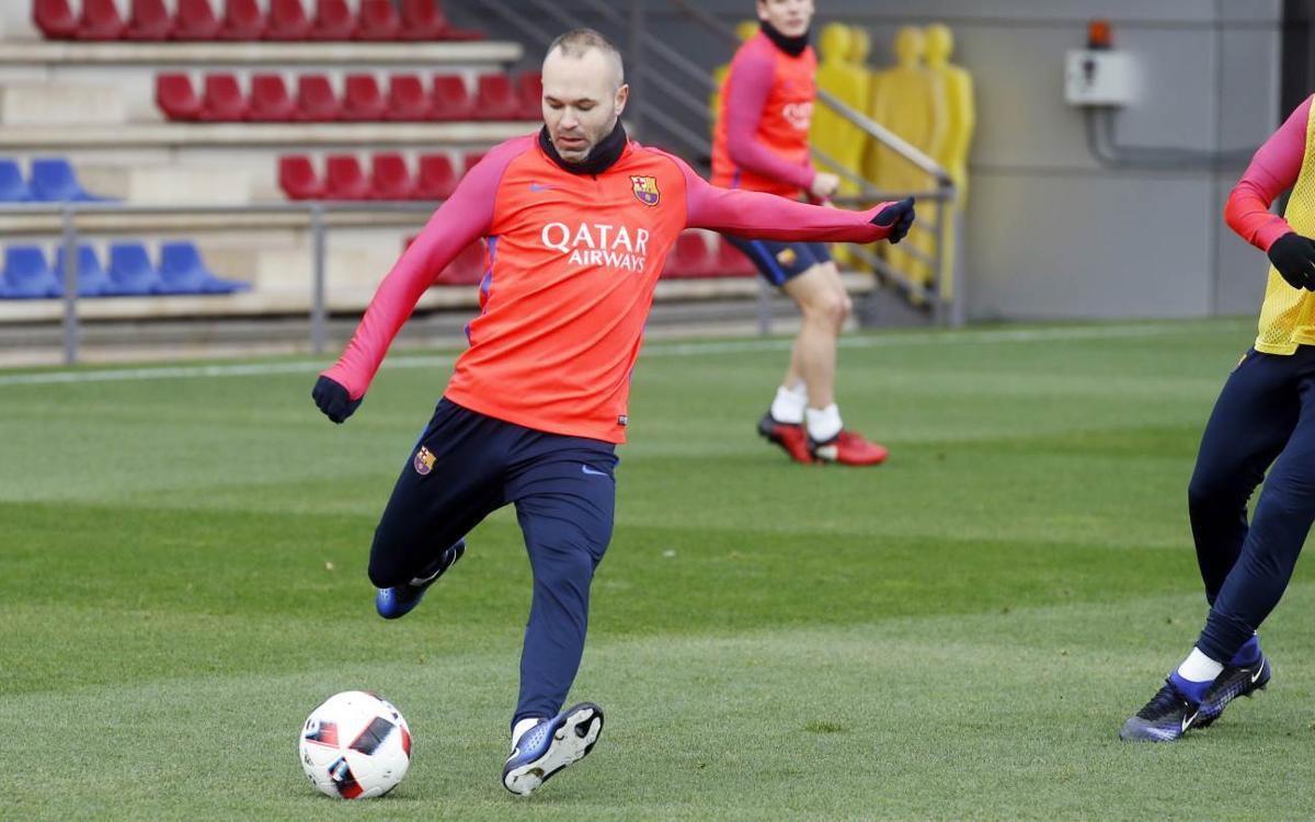 Squad announced for Copa del Rey second leg against Hércules