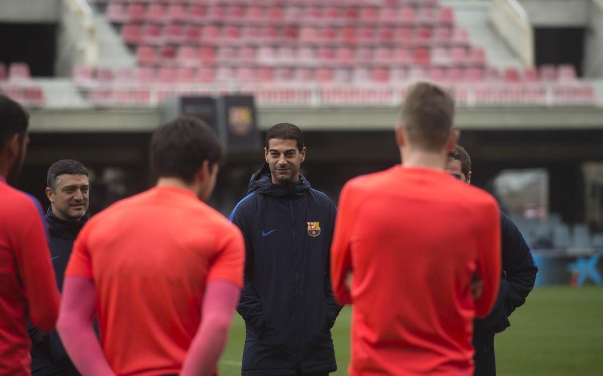 """Gerard López: """"És un partit especial però no definitiu"""""""