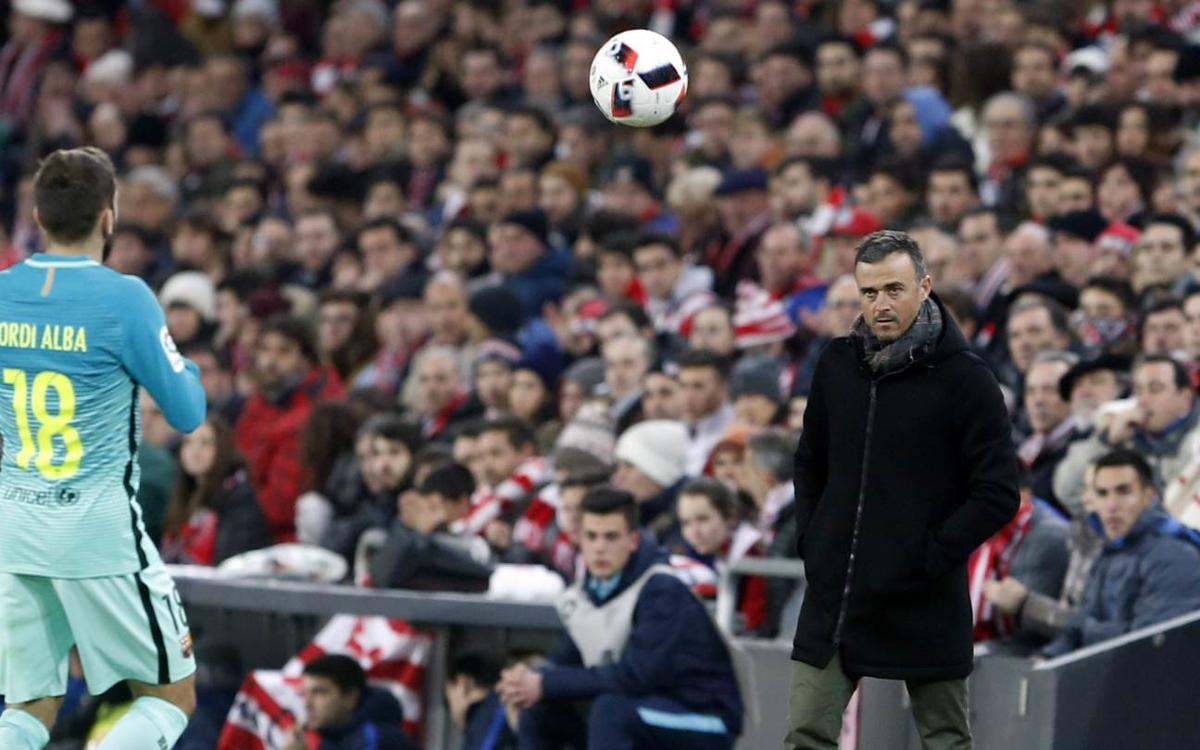 Luis Enrique: Draw would have been fair result