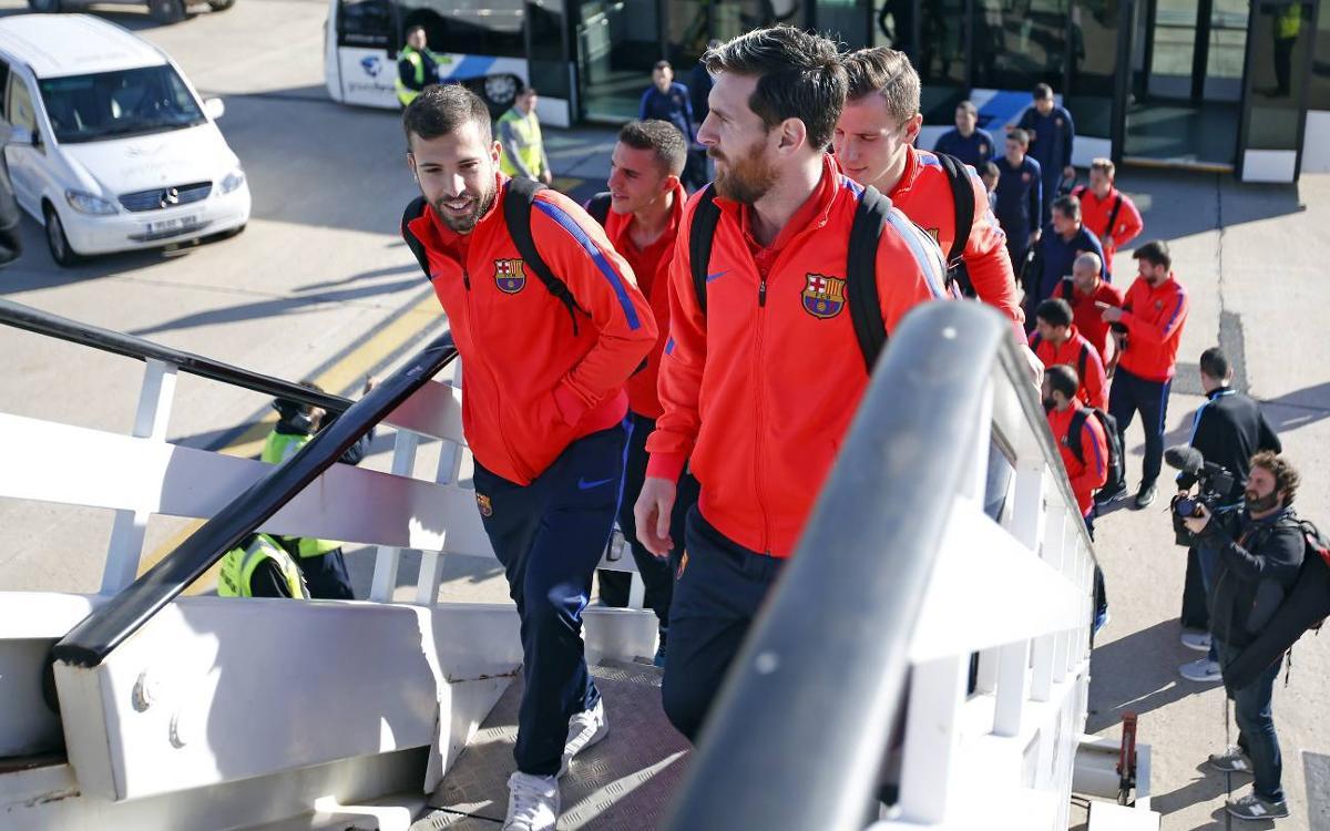 Així ha estat el viatge del Barça a Doha