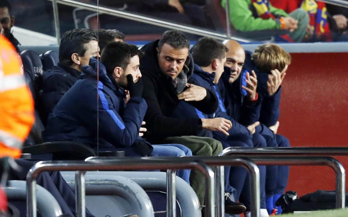 Luis Enrique impressed as FC Barcelona reach Copa del Rey quarter finals