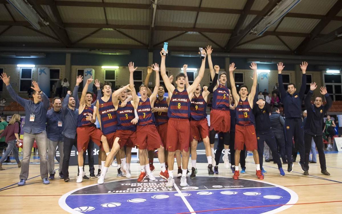 FC Barcelona Lassa – Divina Seguros Joventut: El Júnior, campió amb contundència a l'Hospitalet! (74-58)