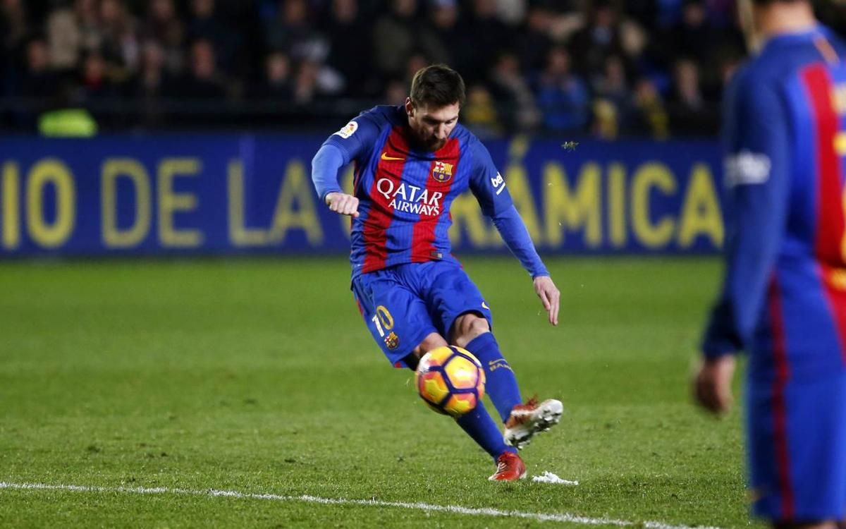 Leo Messi, the free-kick specialist