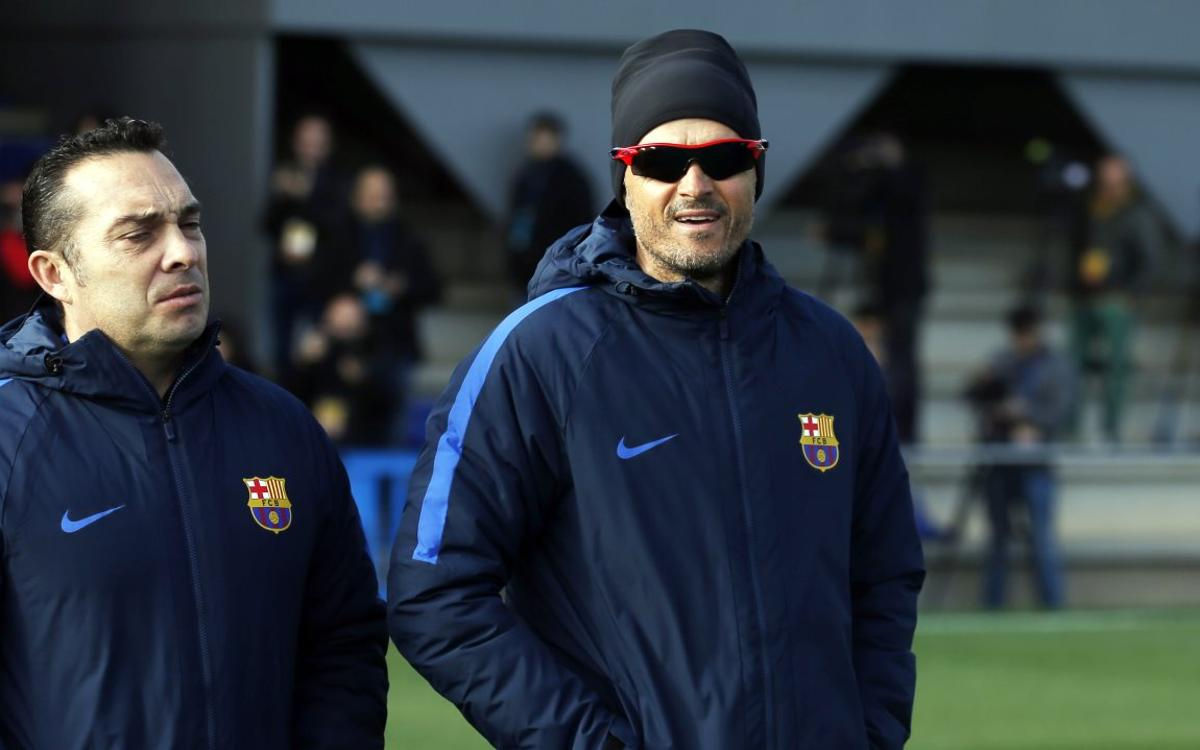 "Luis Enrique: ""Espero al Athletic Club de las grandes citas"""