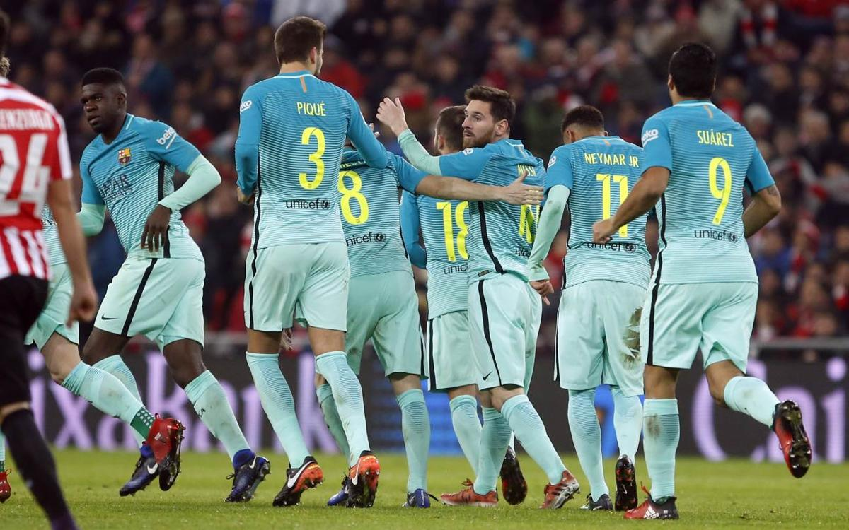 FC Barcelona's narrow cup defeat, by the numbers