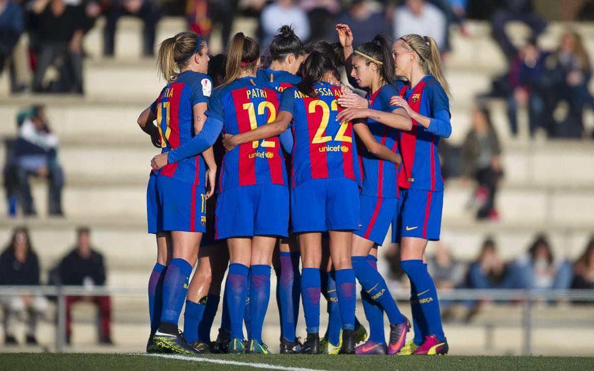 FC Barcelona Femení – UD Granadilla: Gran triomf per iniciar la segona volta (3-0)