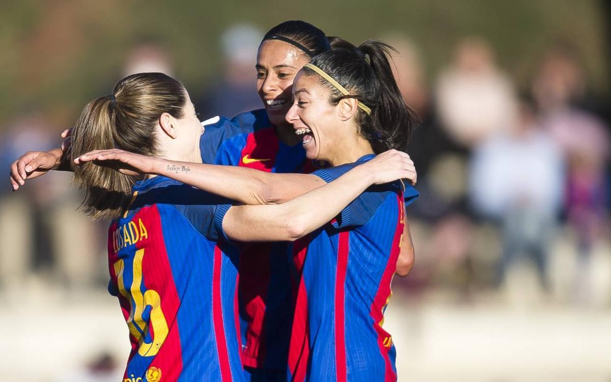 Santa Teresa CD – FC Barcelona Femení (prèvia): Que no s'aturi