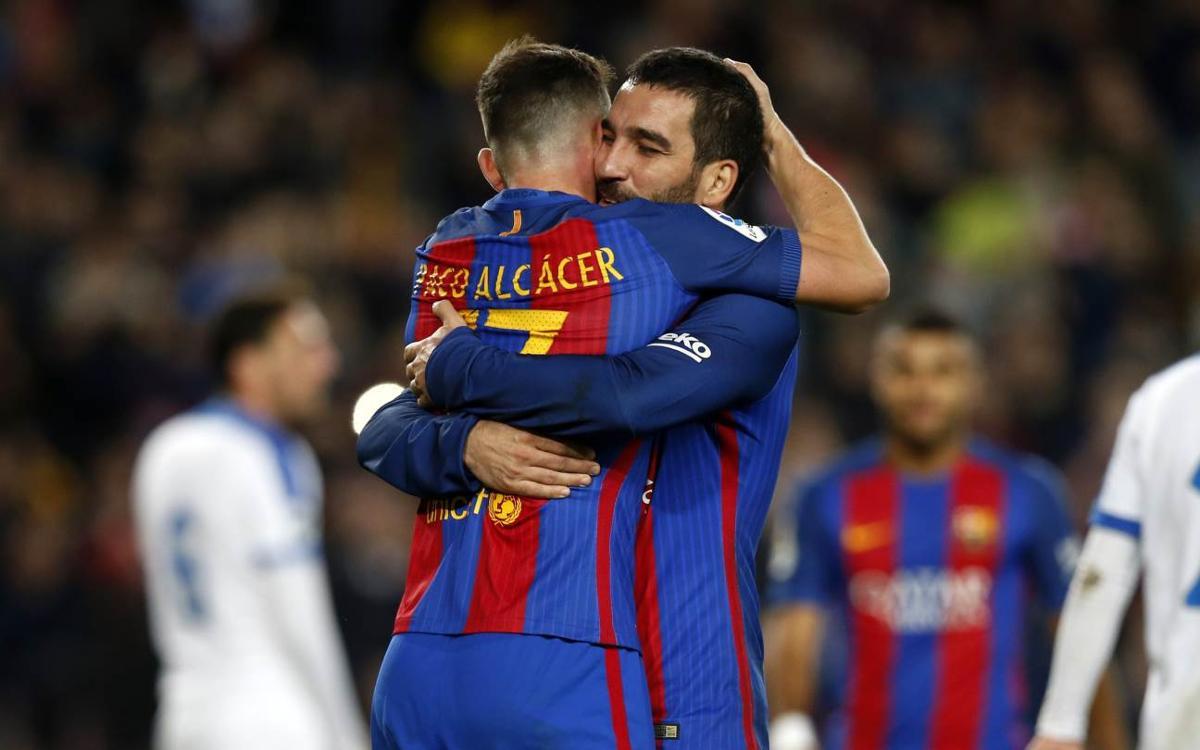 FC Barcelona – Hèrcules: Il·lusió regalada i cap a vuitens! (7-0)