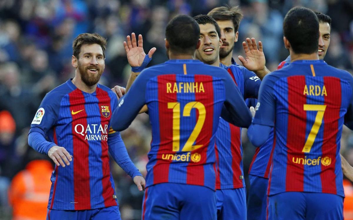 FCバルセロナ – ラス・パルマス: 今年最初のゴールリサイタル (5-0)