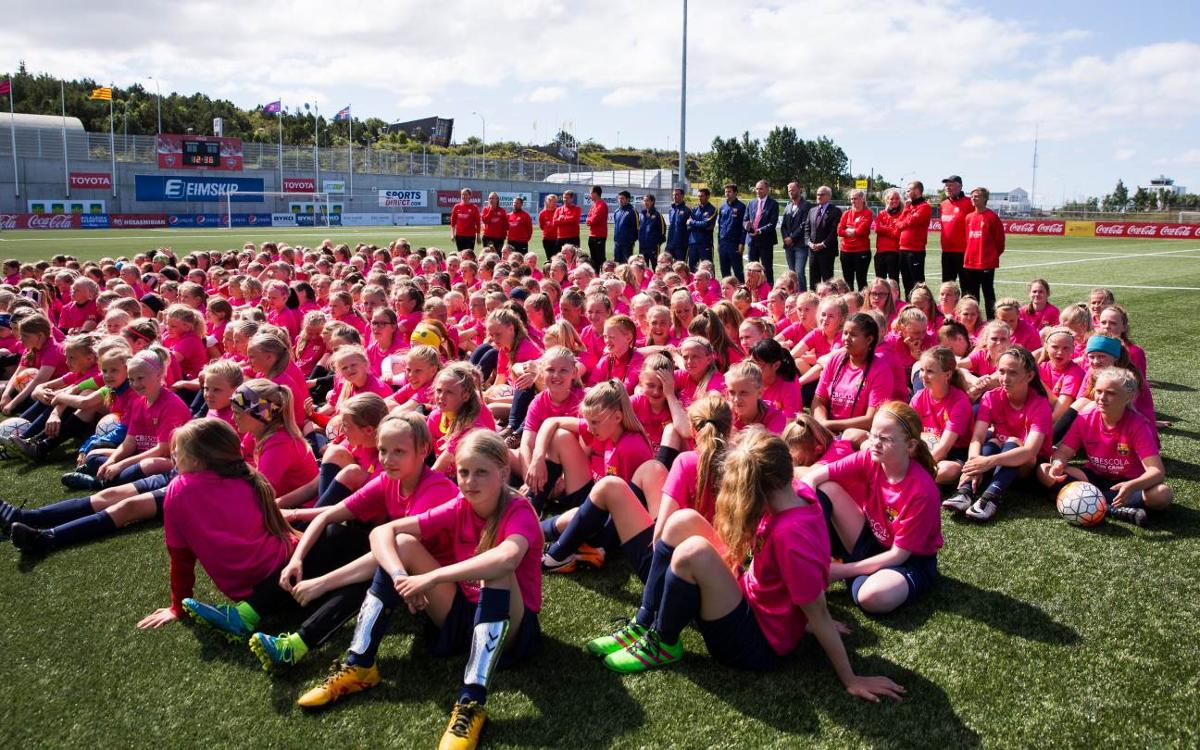 Summer FCBCamps produce positive numbers