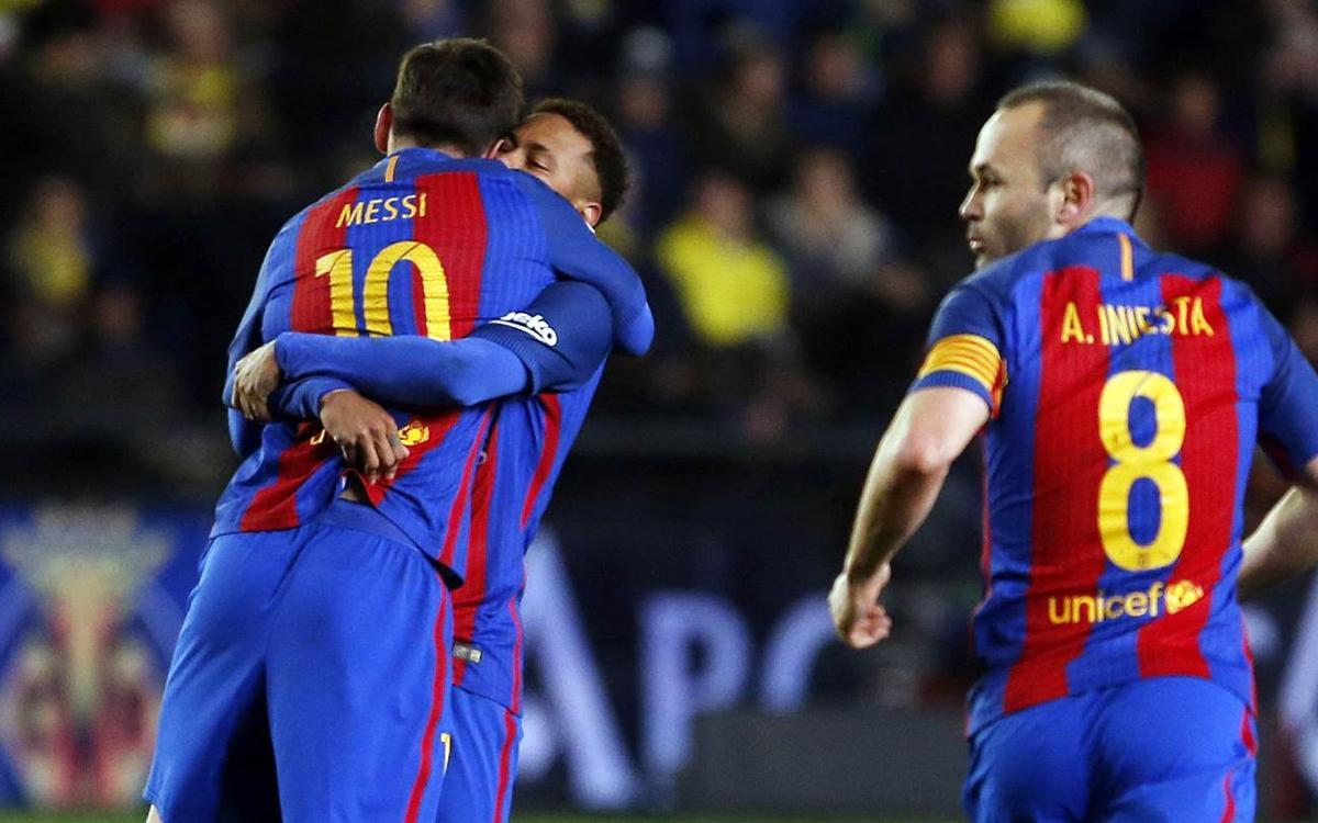 Vila-real CF – FC Barcelona: Leo Messi salva un punt insuficient (1-1)