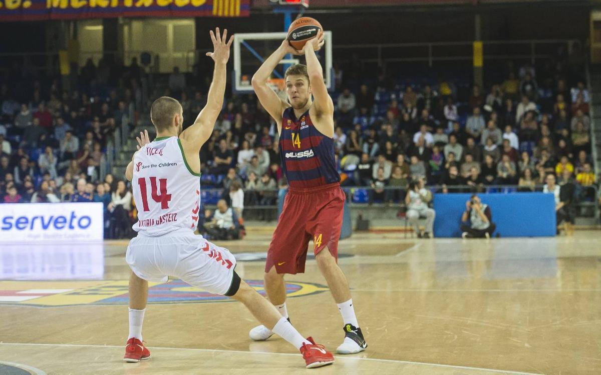 FC Barcelona Lassa - Baskonia: Derrota ante un equipo muy enchufado (79-93)