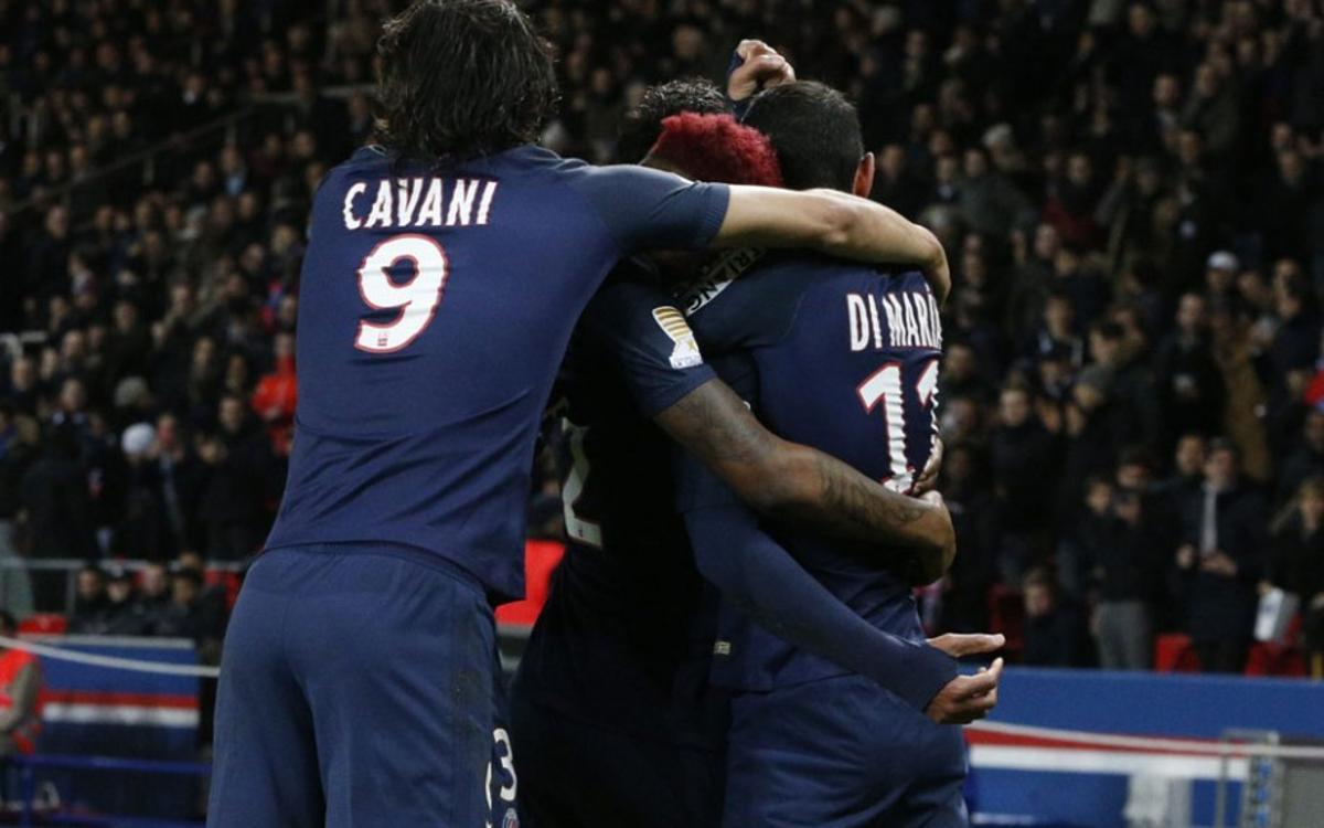 El PSG venç a la Lliga Francesa gràcies a dos gols de Cavani (0-2)