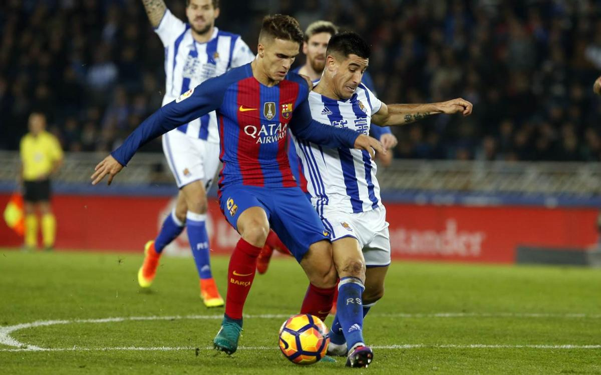 FC Barcelona face Real Sociedad in the Copa del Rey quarter-finals