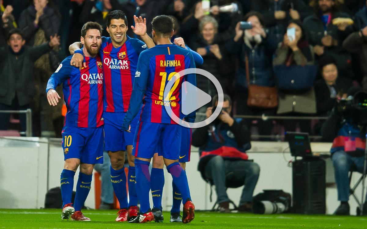 Le résumé de FC Barcelone - Athletic Bilbao, en vidéo (3-1)