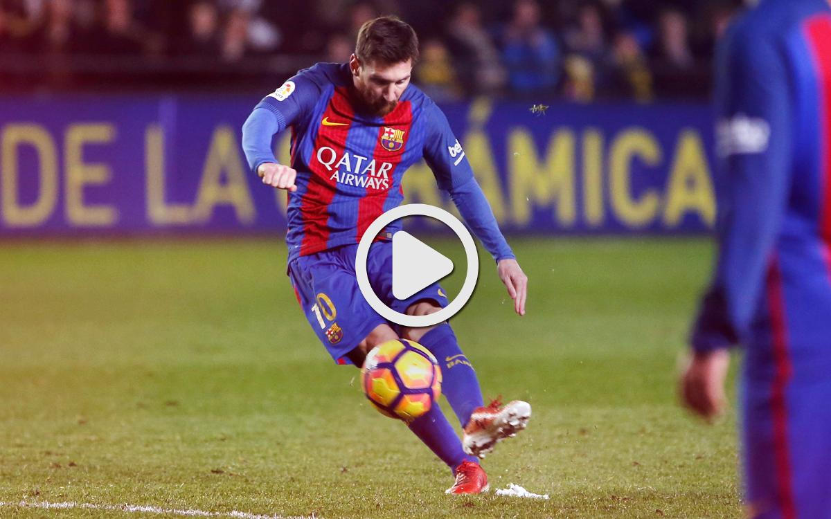 The top plays from Villarreal 1-1 FC Barcelona