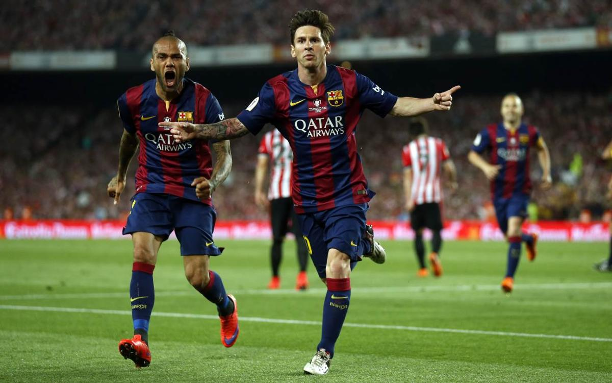Recent FC Barcelona meetings with Athletic Club in the Copa del Rey