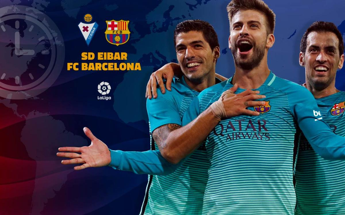 When and where to watch Eibar v FC Barcelona in week 19 of La Liga