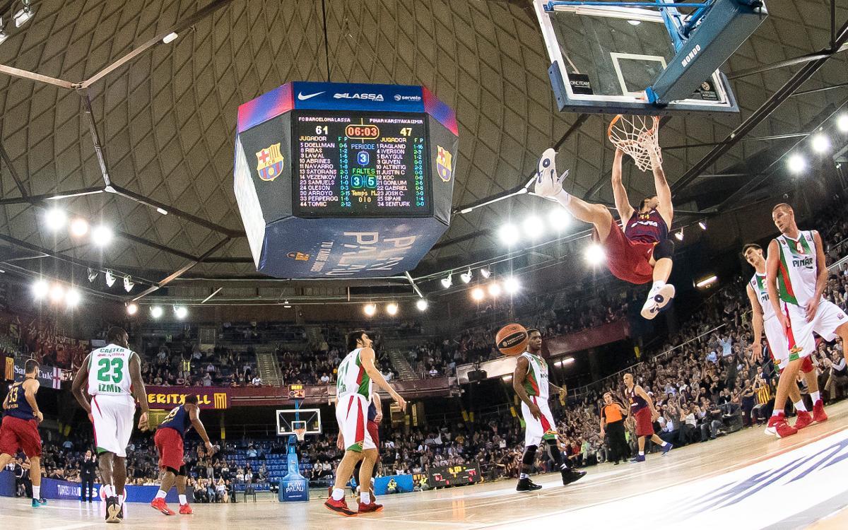 FC Barcelona Lassa - Olympiacos BC: Partido de alto voltaje en el Palau