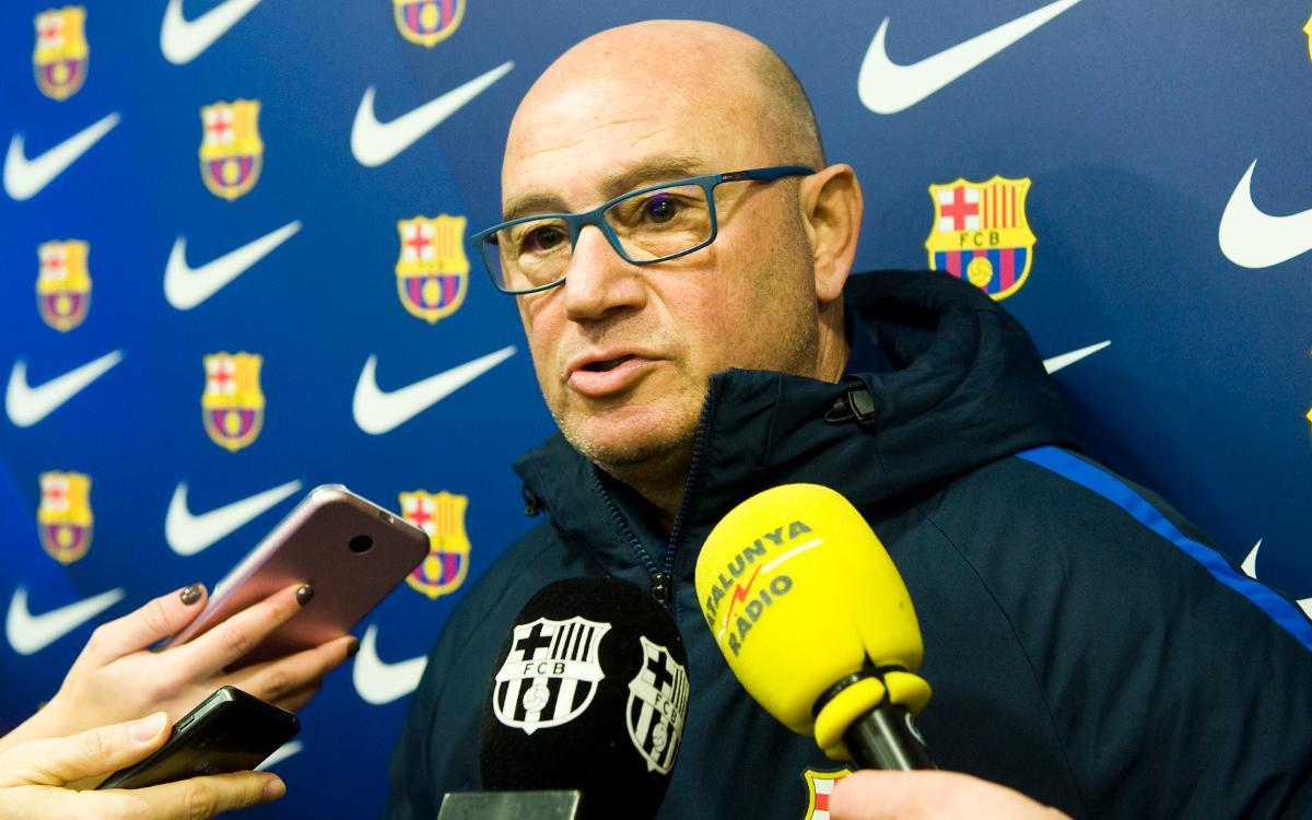 "Xavi Llorens: ""A Badajoz sempre costa guanyar"""
