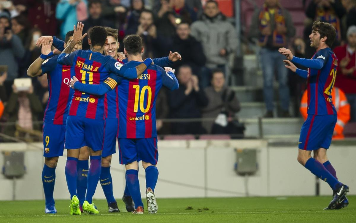 Cup victory against Real Sociedad, by the numbers