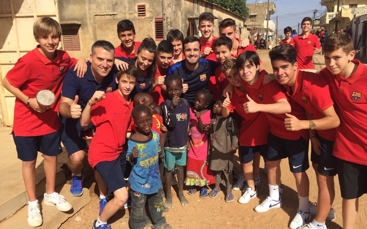 L'Infantil A viu una gran experiència al Senegal