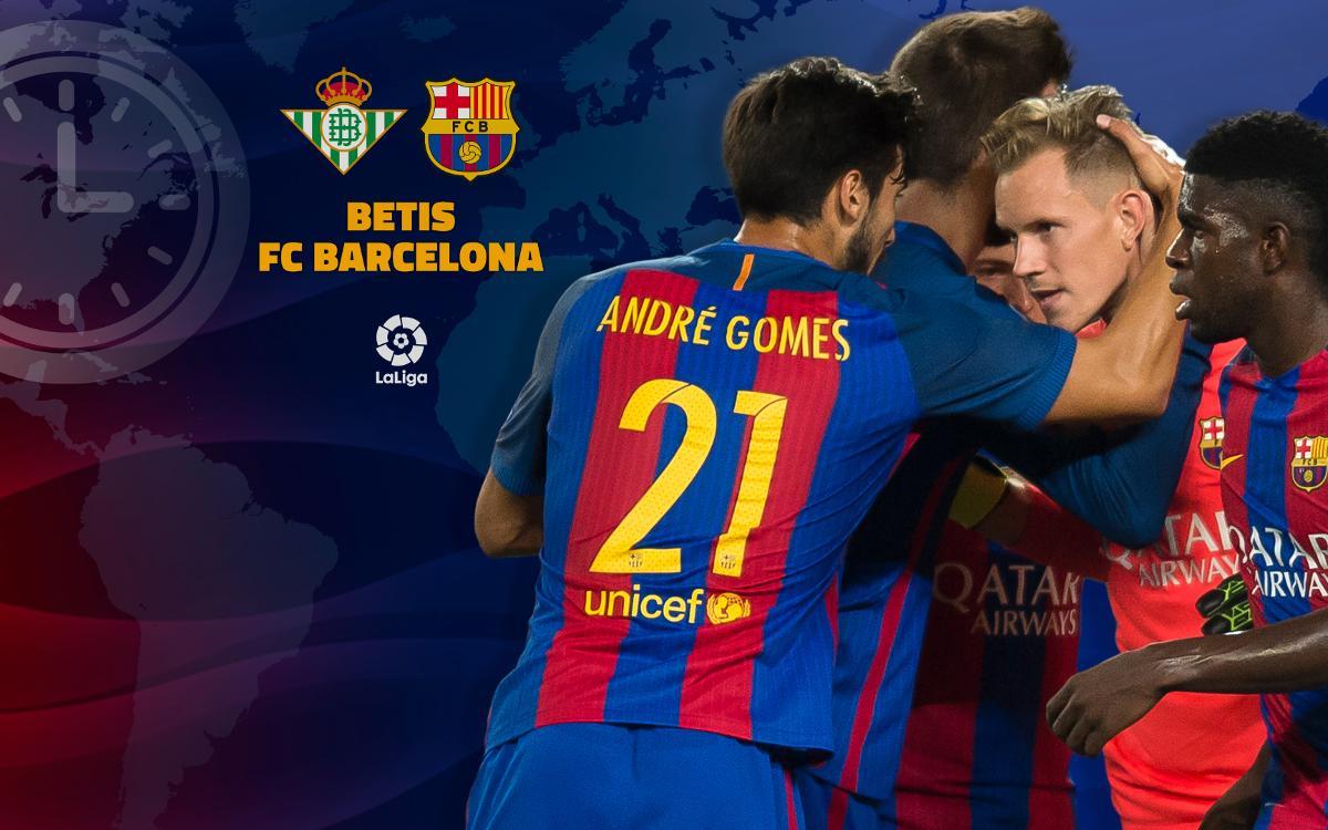 Où et quand voir Betis - FC Barcelone