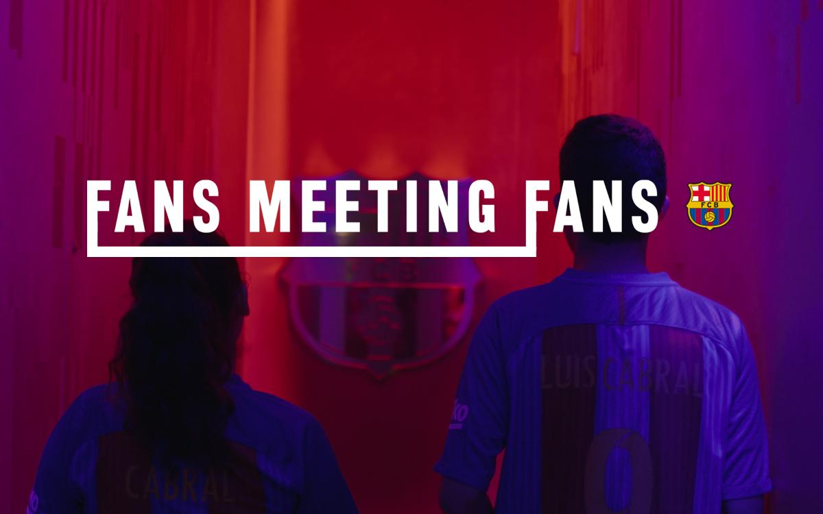 The winner and his guest enjoyed the second edition of 'Fans Meeting fans'
