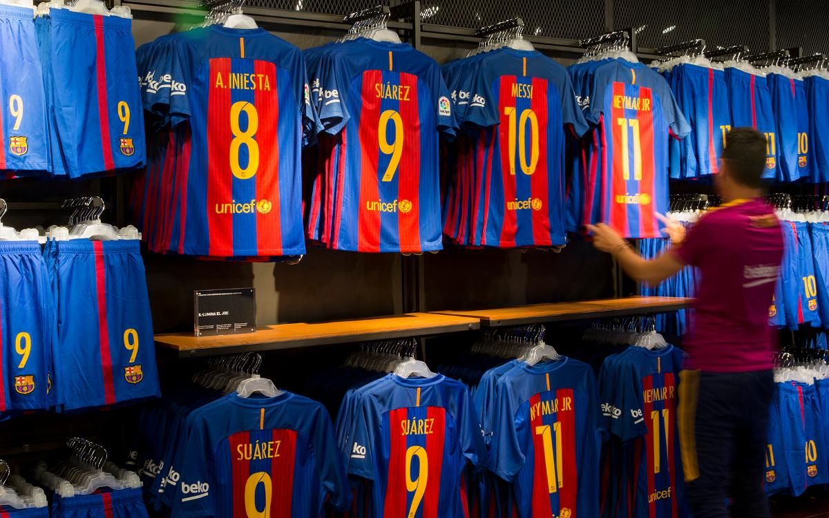 FC Barcelona remains second biggest income earner in world football, now behind Manchester United