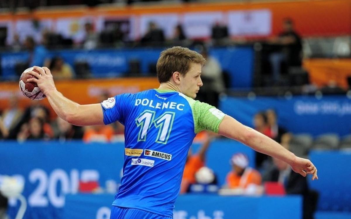 Jure Dolenec, nuevo jugador del Barça de balonmano