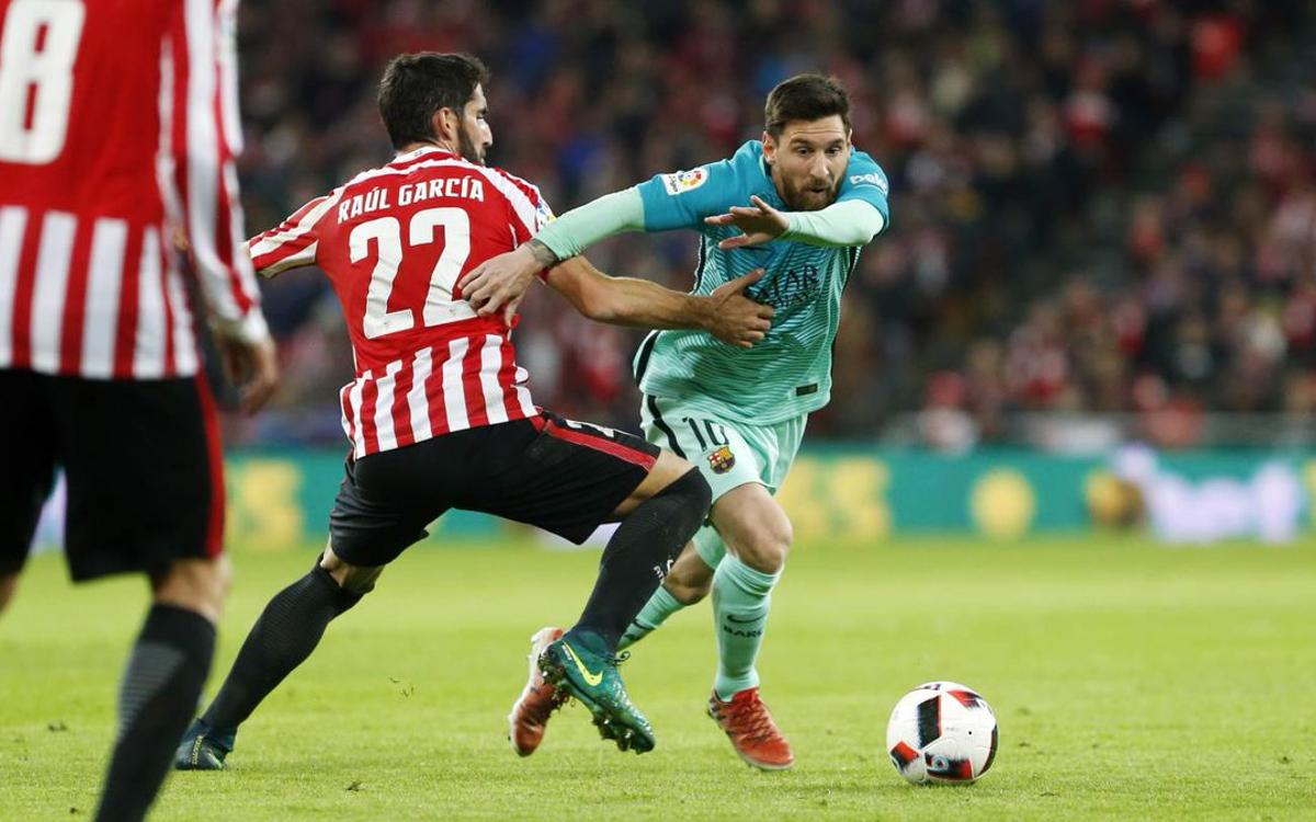 Athletic Bilbao - FC Barcelone : Le mage Messi maintient l'espoir (2-1)