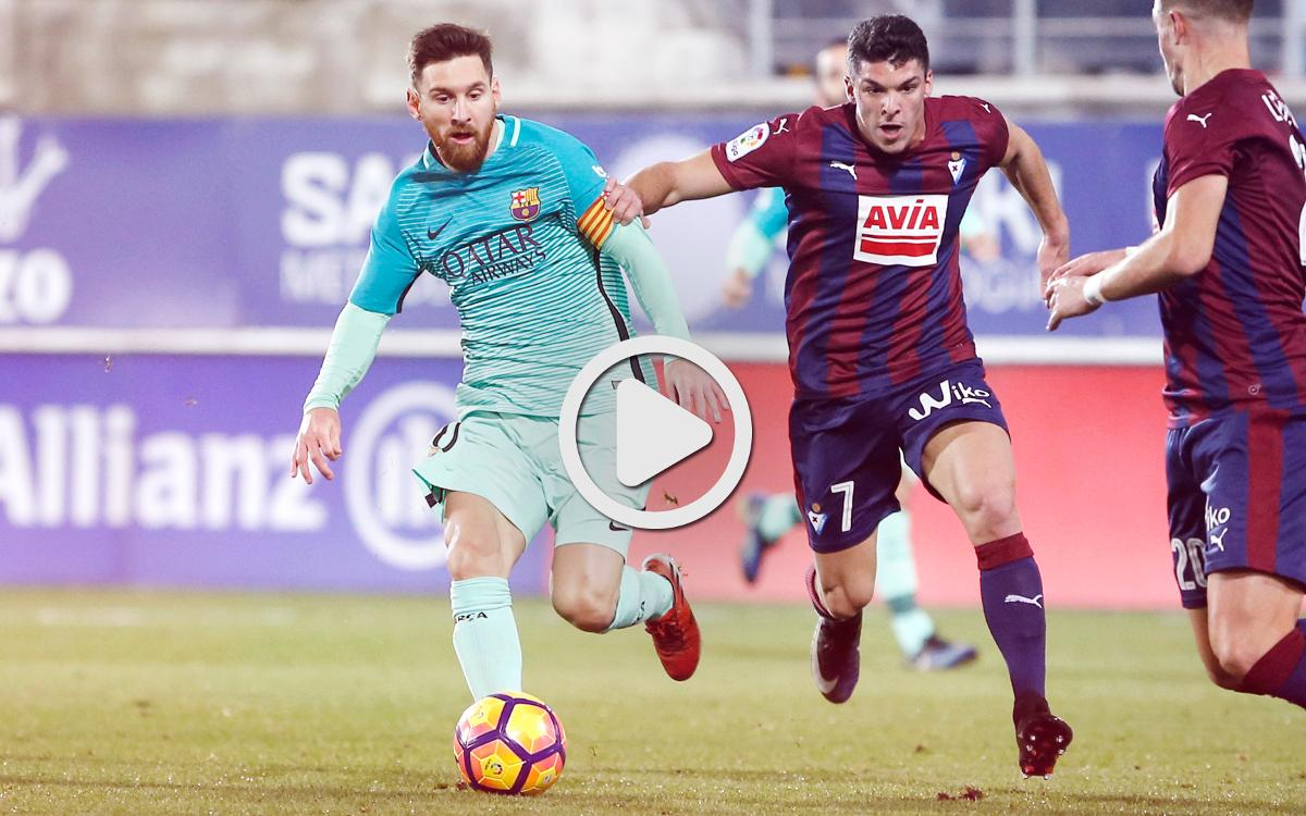 Le résumé de Eibar - FC Barcelone, en vidéo (0-4)