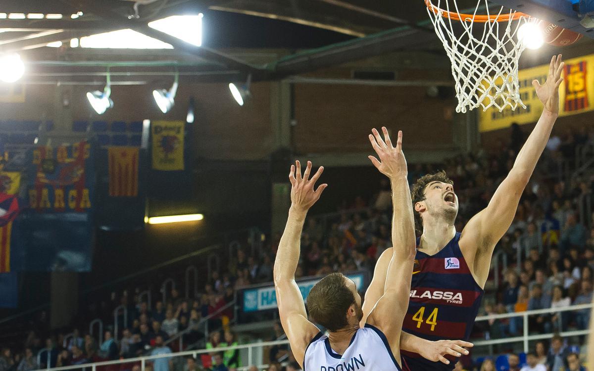 Tomic alcanza los 2.500 puntos en la Liga Endesa
