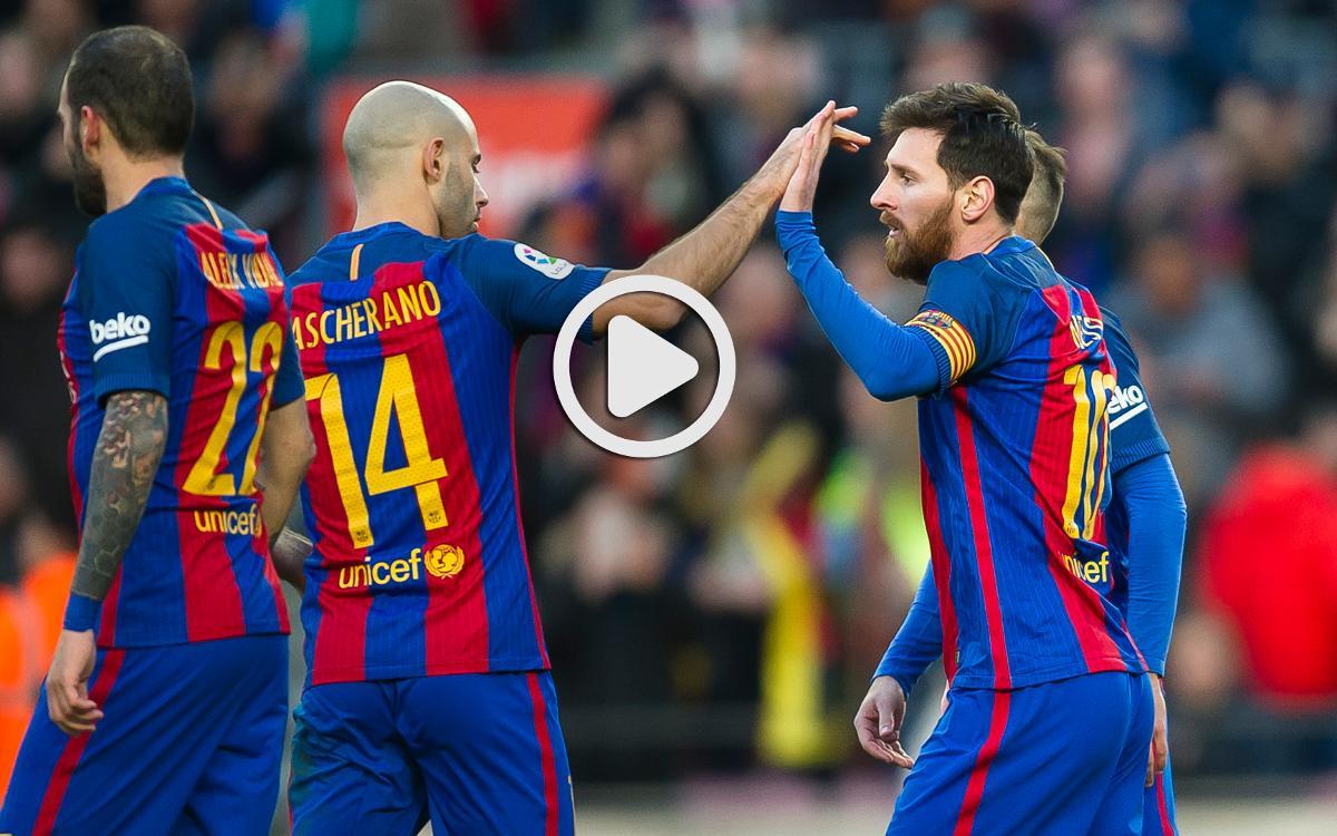 FC バルセロナ - ラス・パルマス戦ハイライト